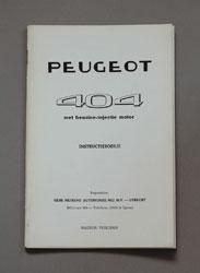 Peugeot 404,benzine-injectie motor,Instructieboekje,Nefkens Utrecht,1965-05, - OCR.pdf
