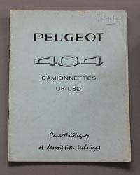 1967 Peugeot 404 Camionettes U8-U8D Caracteristiques FR - OCR.pdf