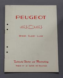 1965 Peugeot 404 Break Super Luxe Technische Daten DE - OCR.pdf