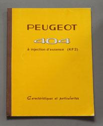 1964 Peugeot 404 Injection essence KF2 Caracteristiques FR - OCR.pdf
