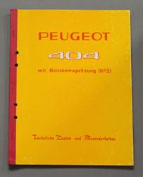 1964 Peugeot 404 Benzineinspritzung KF2 Technische Daten DE - OCR.pdf