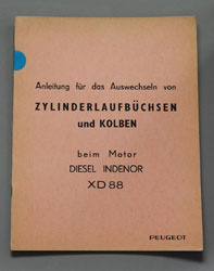 1965 Peugeot 404 Diesel XD88 Auswechseln Zylinderlaufbuchsen DE - OCR.pdf